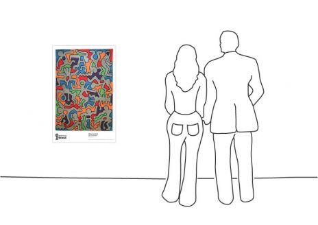 """Keith Haring Palladium, 1985"""
