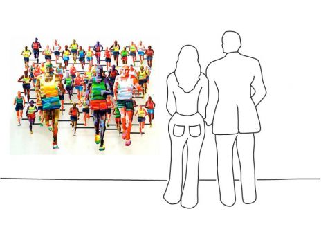 """David Gerstein """"Marathon Berlin"""""""