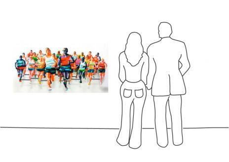 """David Gerstein """"Marathon NY"""""""