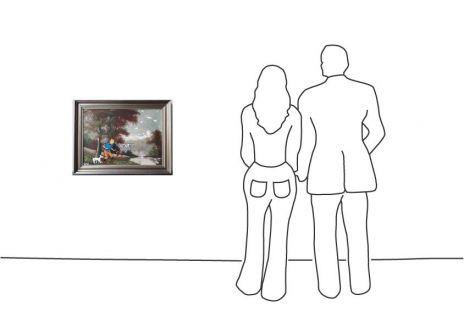 """Marisa Rosato """"Art mit Rehen"""""""