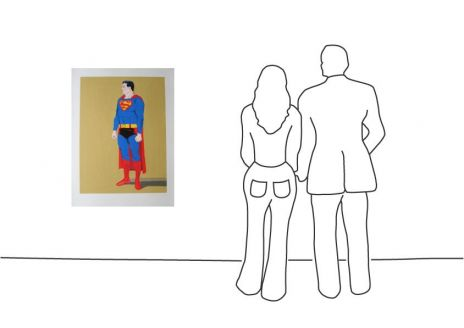 "Mel Ramos ""Superman """