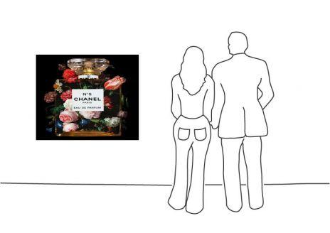 "Mascha de Haas ""New Chanel Jan Davidsz van heem Eau de Floral 2"""