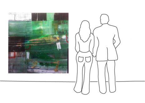 "Ralf Bohnenkamp ""O.T. (160 x 160 cm)"""