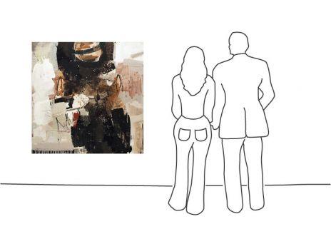 "Ralf Bohnenkamp ""O.T. (130 x 130 cm) (006)"""