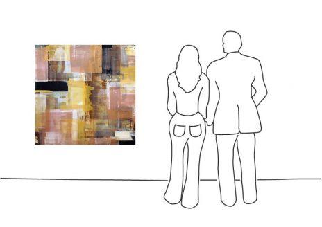 "Ralf Bohnenkamp ""O.T. (120 x 120cm) (014)"""