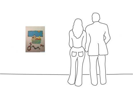 """Diverse Künstler """"Niki St. Phalle Nana und Schlange"""""""