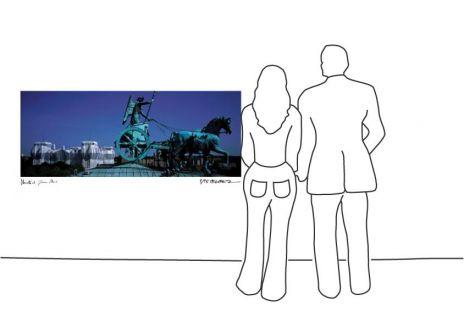 "Christo ""Reichstag Quadriga """