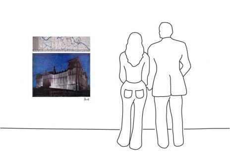 "Christo ""Reichstag XV"""