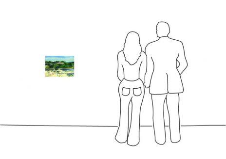 """Günter Grass """"Südliche Landschaft"""""""