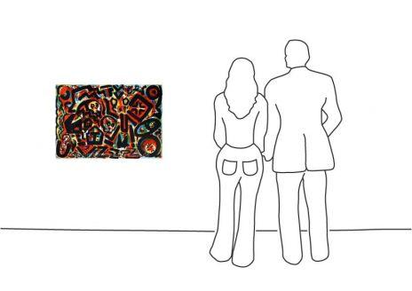 "A. R. Penck ""The Rhythm of the Day"""