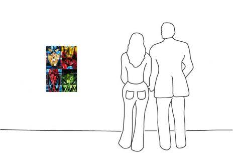 """Diverse Künstler """"Tim Rogerson 4 Square Heroes"""""""