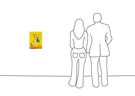 """Udo Lindenberg """"Andere denken nach wir denken vor Grafik"""""""