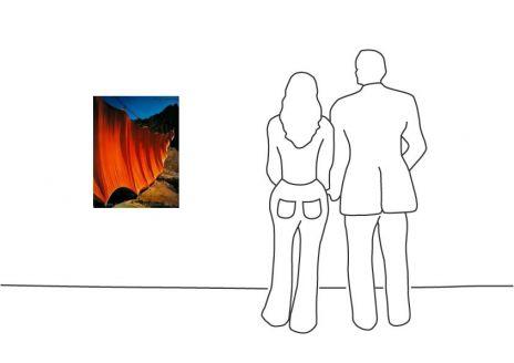 """Christo """"Valley Curtain 2 1972"""""""