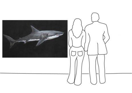 """Tobias Emskötter """"Weißer Hai"""""""