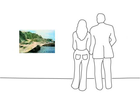 "Christo ""Wrapped Coast 1969 """