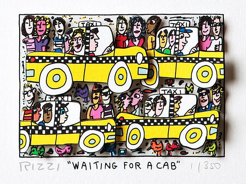 Waiting for a Cab