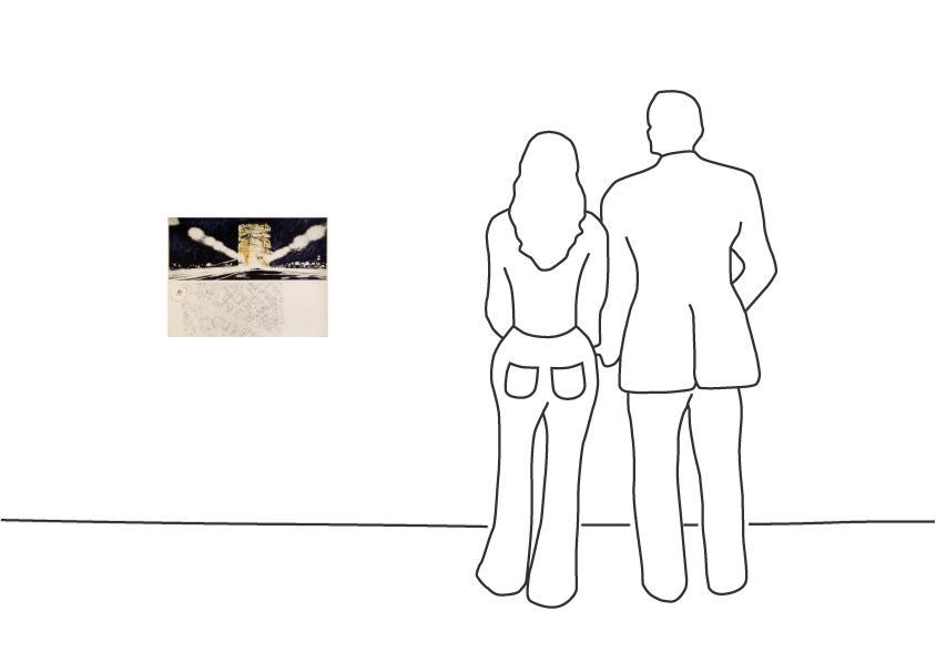 """Christo """"Arc de Triomphe, Paris (1970)"""""""