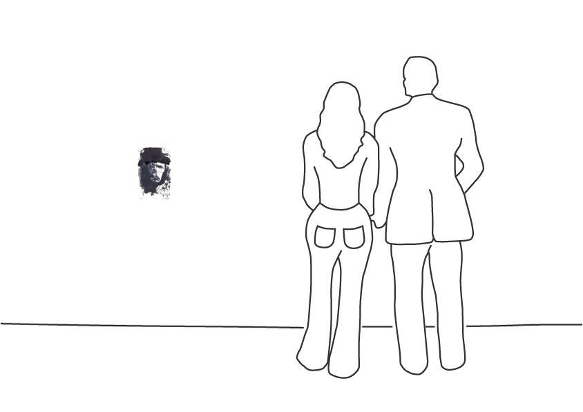 "Armin Mueller-Stahl ""Portrait Joseph Beuys"""