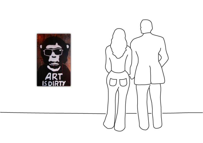 "Marisa Rosato ""Art is Dirty"""