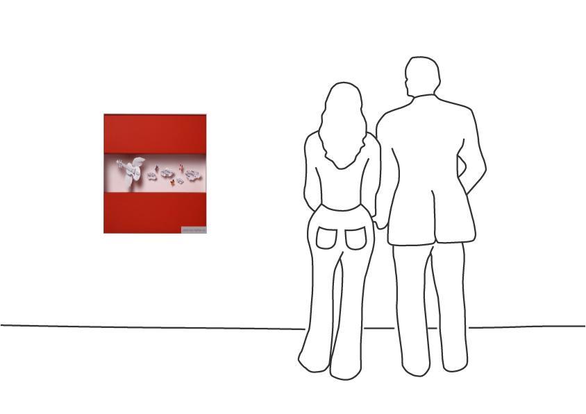 """Volker Kühn """"Flagge: Österreich"""""""