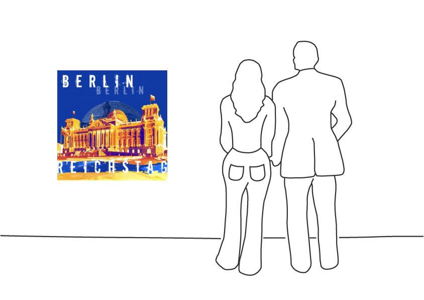 """Fritz Art """"Berlin Reichstag"""""""