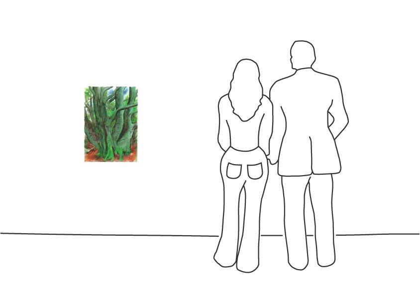 """Günter Grass """"Bäume I"""""""