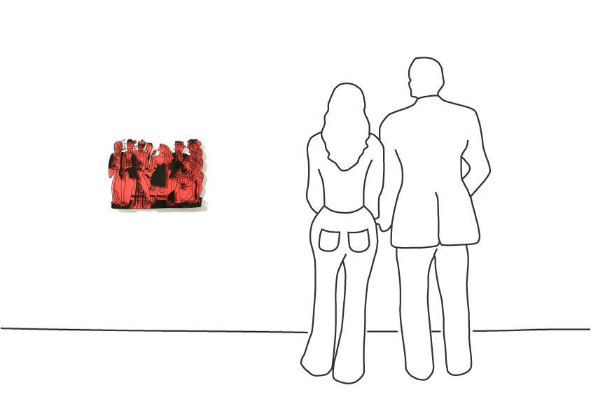 """David Gerstein """"Bar Series - Bar At Night (red)"""""""