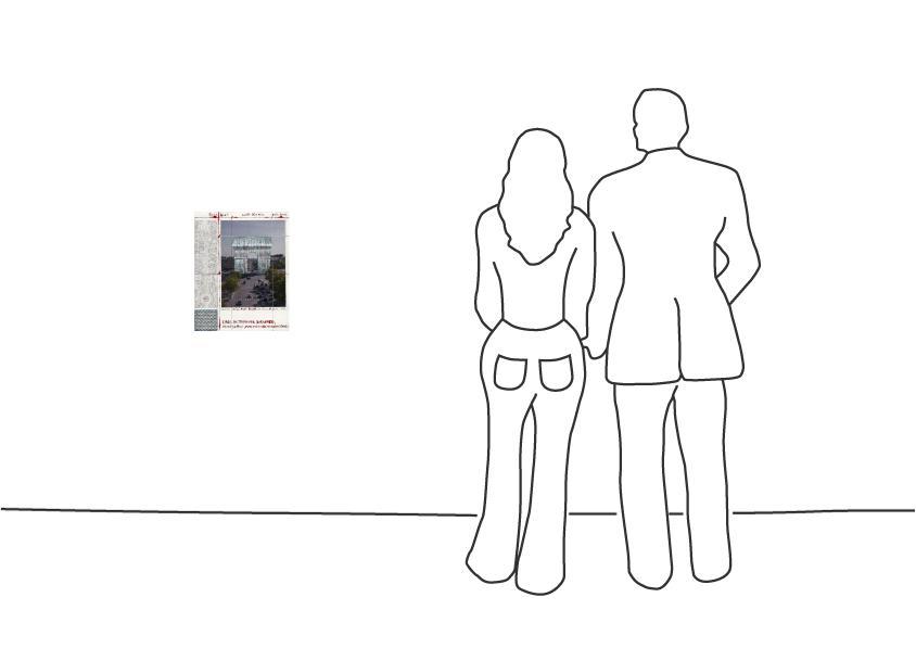 """Christo """"Arc de Triomphe II, Project for Paris"""""""