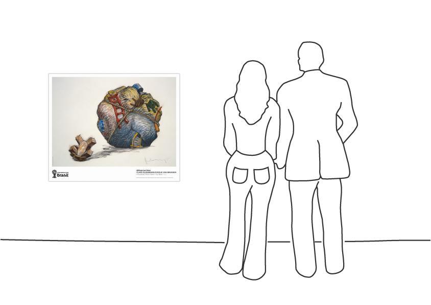 """""""Claes Oldenburg / Coosje van Bruggen, Houseball with Fallen Toy Bear, 1997"""""""