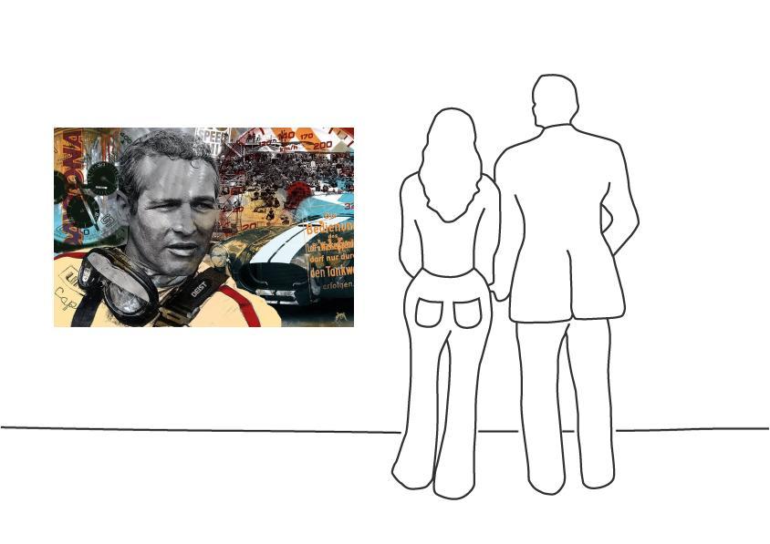 "Devin Miles ""Daytona - Paul Newman"""