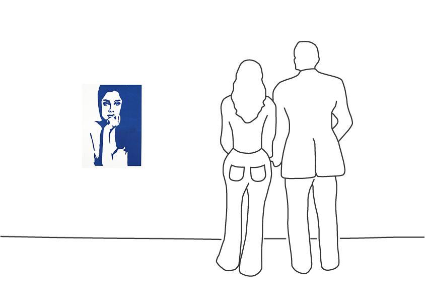 """Werner Berges """"Die Farben der Frauen – La Azul"""""""