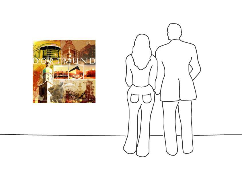 """Fritz Art """"Dortmund Collage"""""""