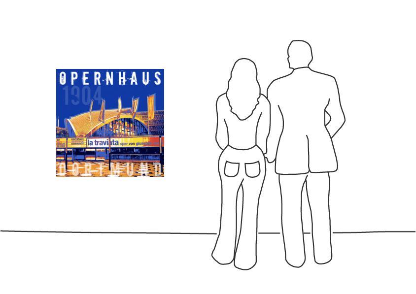 """Fritz Art """"Dortmund Opernhaus"""""""