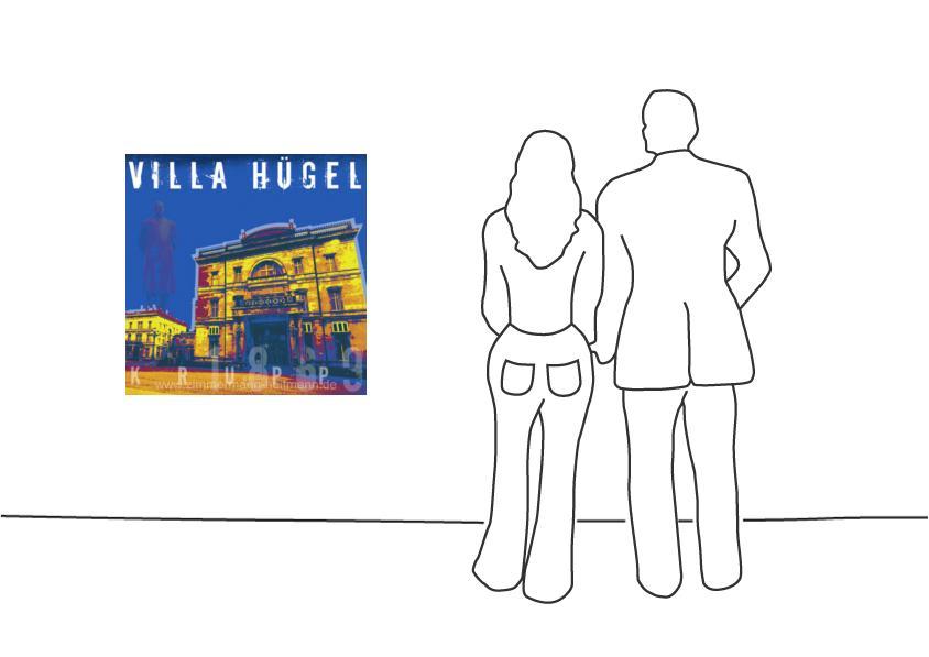 """Fritz Art """"Essen Villa Huegel"""""""