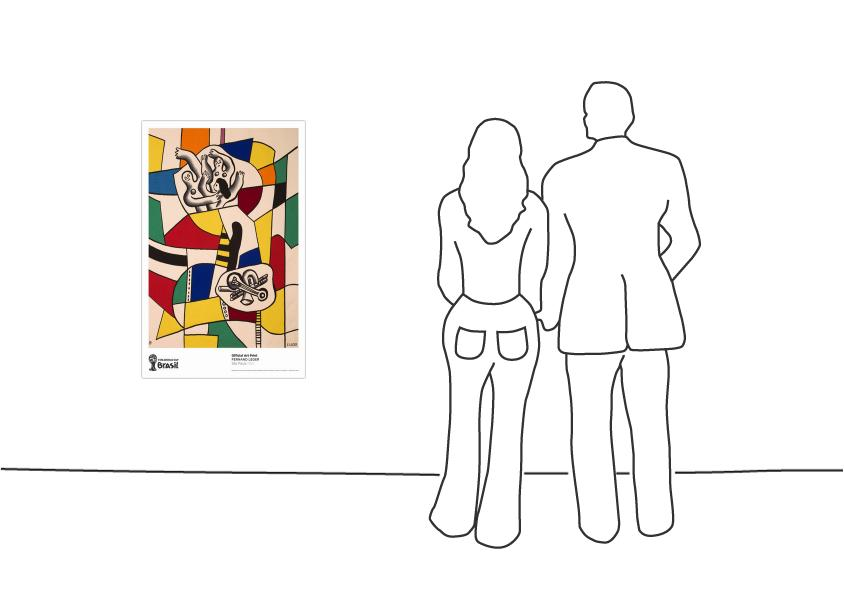 """Fernand Léger São Paulo, 1953"""