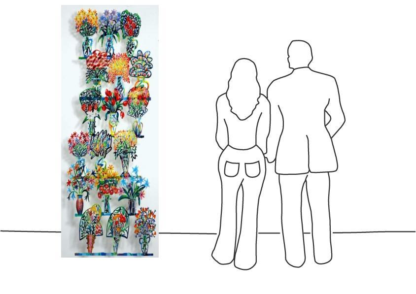 """David Gerstein """"Flower Shop ABC"""""""