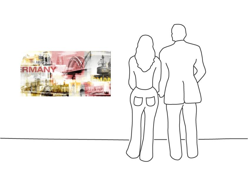 """Fritz Art """"Deutschland Collage 3"""""""