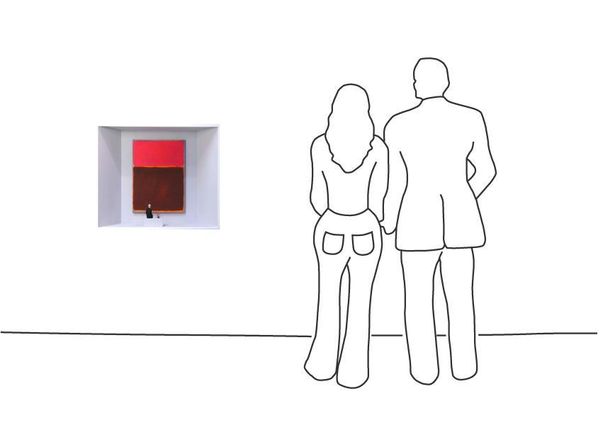 """Volker Kühn """"Hommage to Rothko (Der einsame Mark Rothko)"""""""