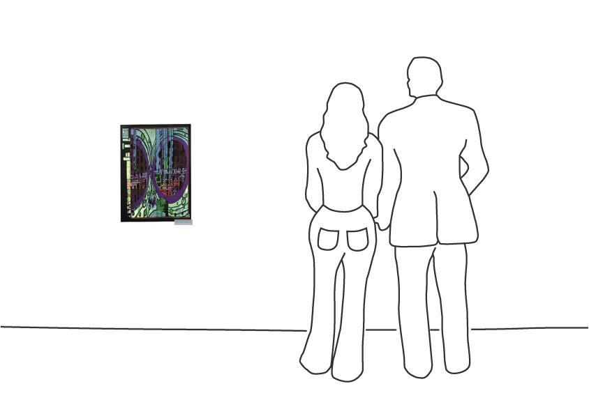 """Diverse Künstler """"Hundertwasser, Friedensreich Regen auf Regentag"""""""