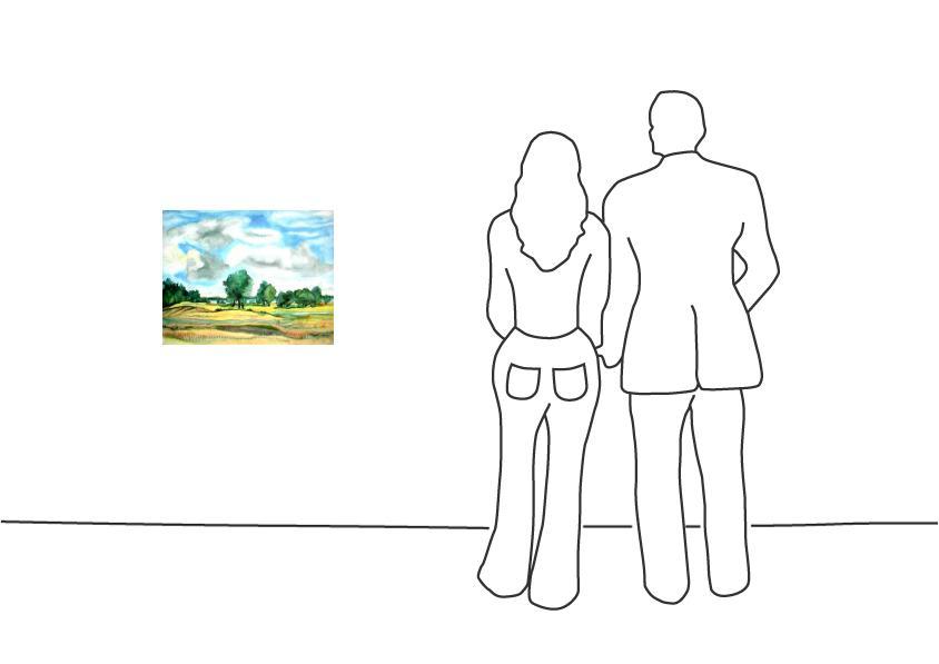 """Günter Grass """"Landschaft am See"""""""