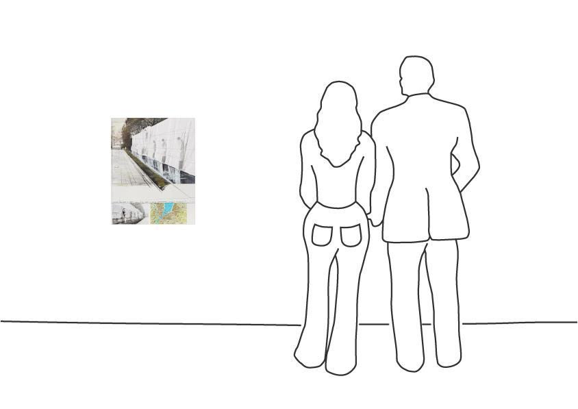 "Christo ""Le Mur de Reformateur, Genf"""