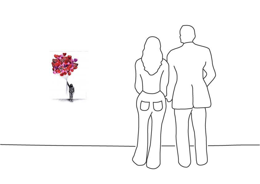 "Mr. Brainwash ""Love Balloons"""