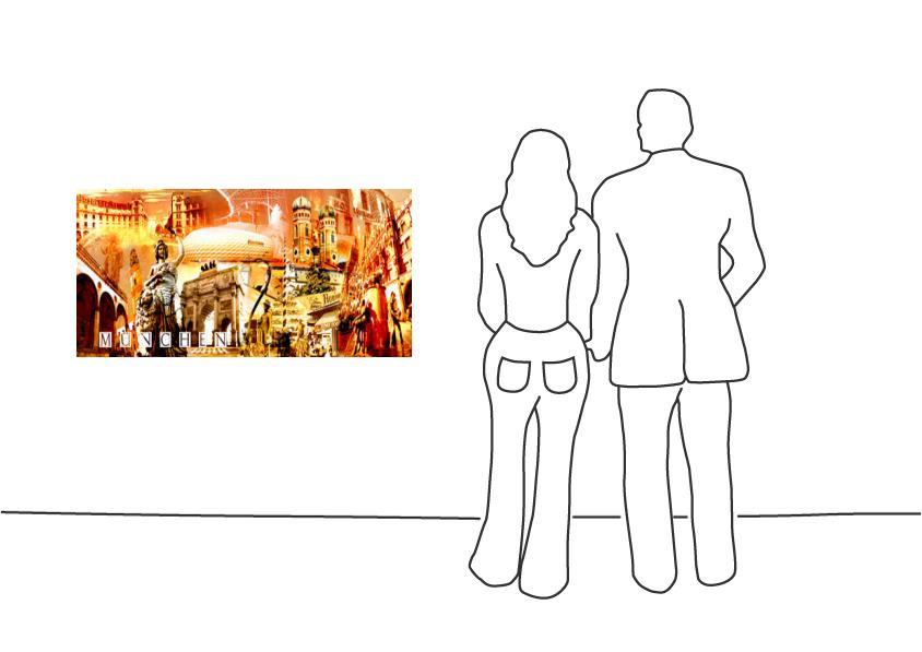 """Fritz Art """"München Collage 2"""""""