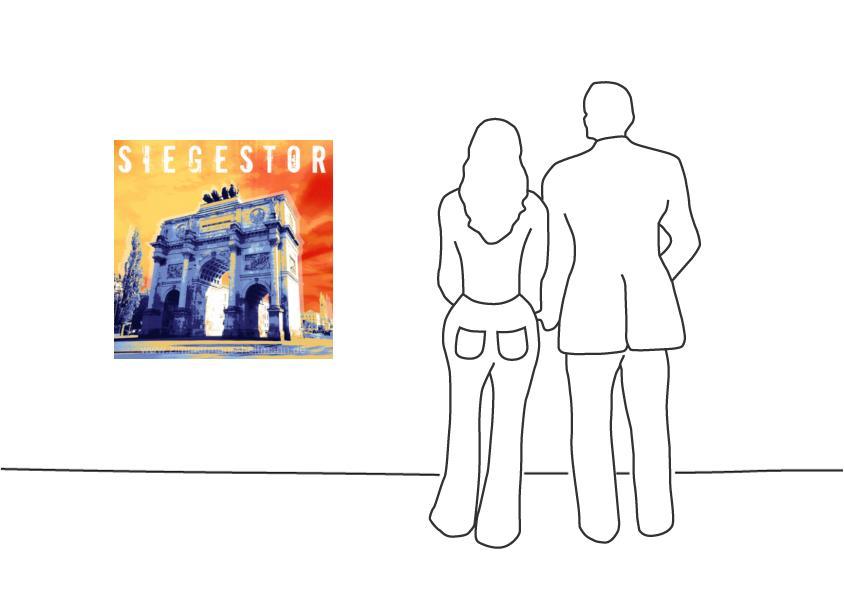 """Fritz Art """"München Siegestor"""""""