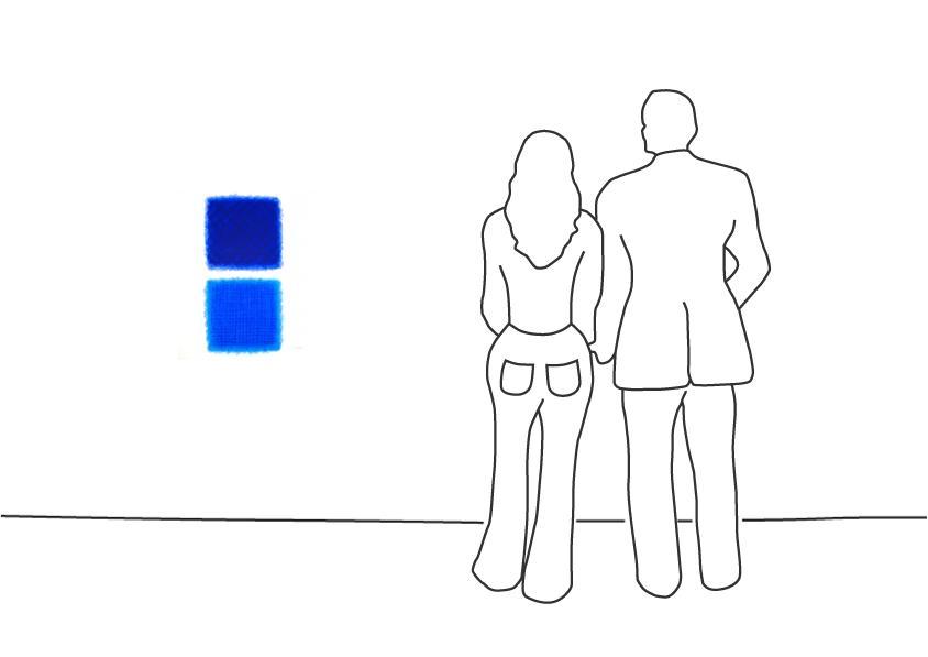 """Chromatik Blau-Blau"""