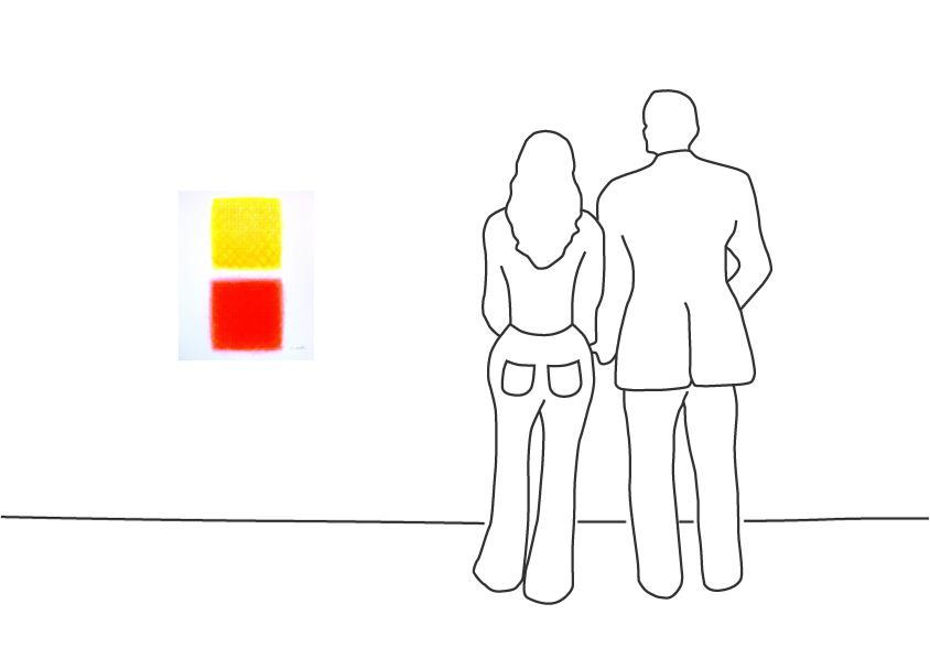 """Chromatik Rot-Gelb"""