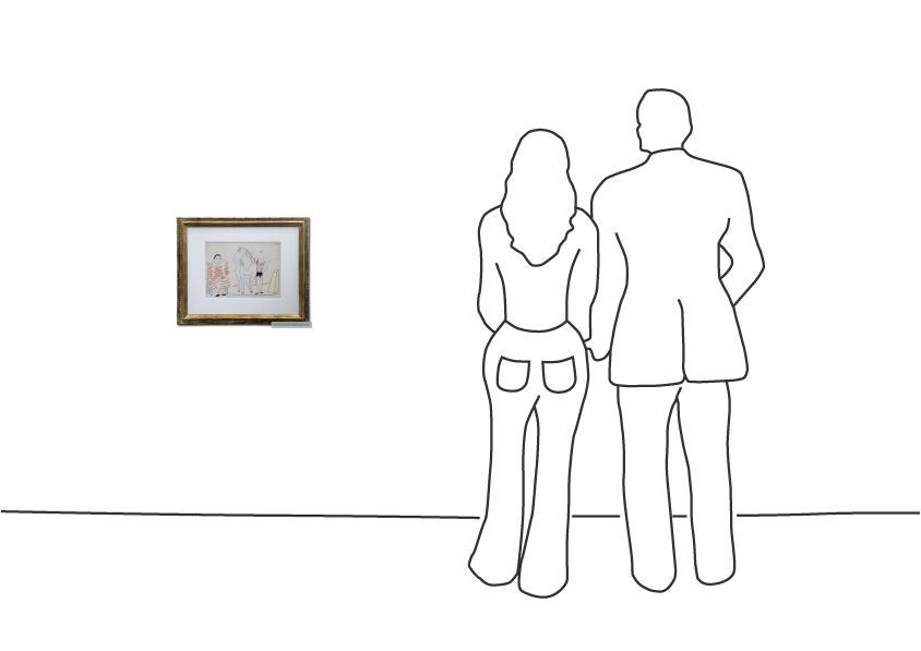 "Pablo Picasso ""Maler und Modell I"""