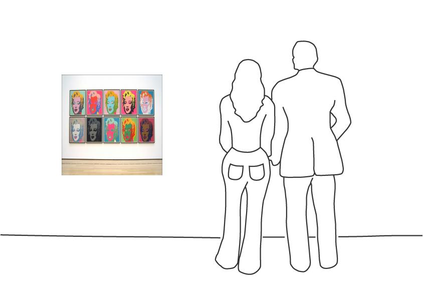 "Diverse Künstler ""Andy Warhol Marilyn Monroe - ""Sunday B. Morning"" Edition"""