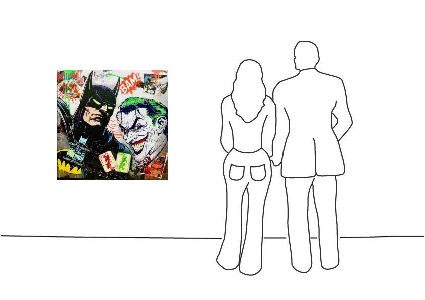 "Michel Friess ""Batman vs. Joker"""