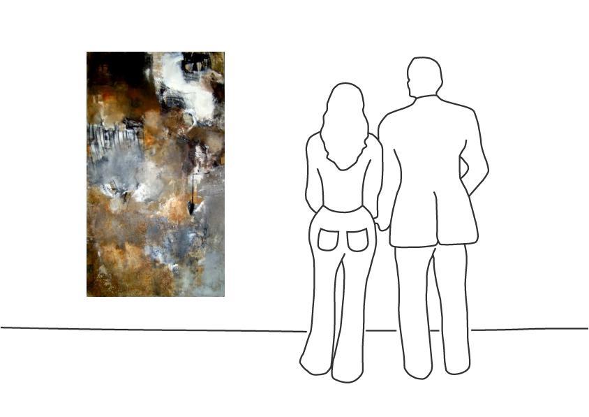 """Barbara Giesbert """"O.T. (160 x 90 cm)"""""""